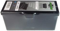 Blackfire 4-Compartment Storage Box - Zwart
