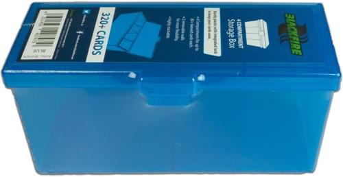 Blackfire 4-Compartment Storage Box - Blauw