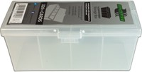 Blackfire 4-Compartment Storage Box - Doorzichtig
