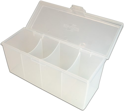 Blackfire 4-Compartment Storage Box - Doorzichtig-2