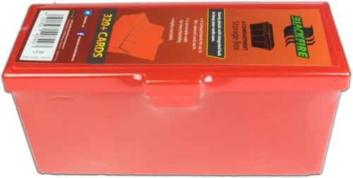Blackfire 4-Compartment Storage Box - Rood
