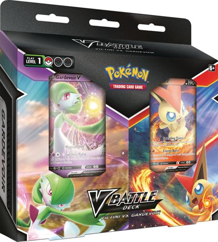 Pokemon Battle Deck Bundle - Victini V vs Gardevoir V