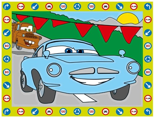 Schilderen Op Nummer Disney Cars-2