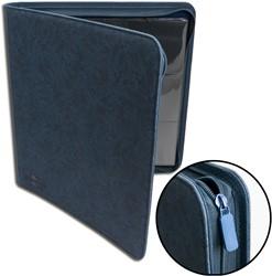 Blackfire 12-Pocket Premium Zip-Album - Blue