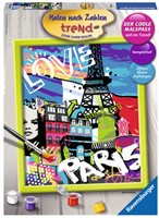 Schilderen Op Nummer - Cooles Paris-1