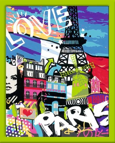 Schilderen Op Nummer - Cooles Paris-2
