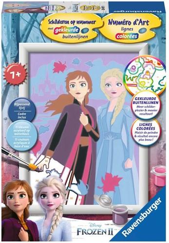 Frozen 2 - Schilderen op Nummer