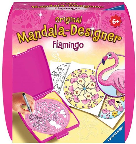 Mini Mandala Designer Flamingo's