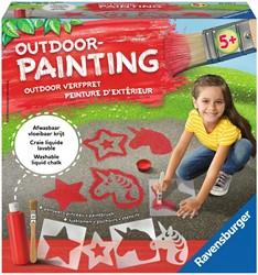 Outdoor Painting Unicorn