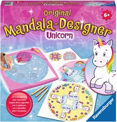 Mandala-Designer Unicorn 2 in 1