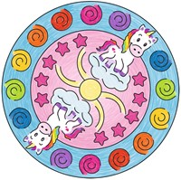 Mini Mandala-Designer Unicorn-3
