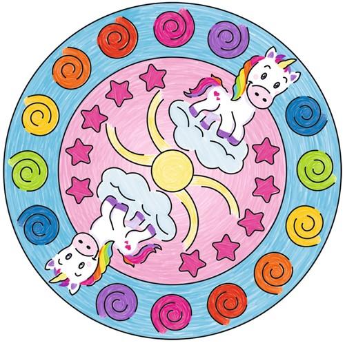 Mini Mandala-Designer Unicorn