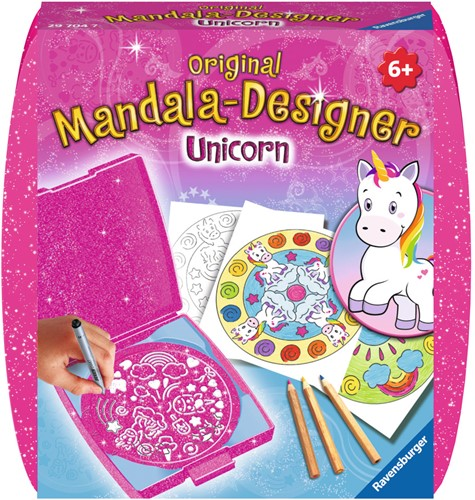 Mini Mandala-Designer Unicorn