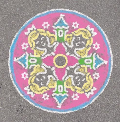 Outdoor Mandala-Designer Prinses