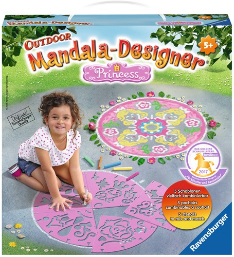 Outdoor Mandala-Designer Prinses