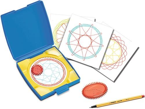 Mini Spiral Designer Blauw-3