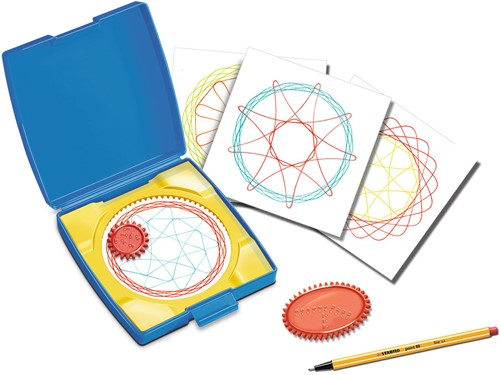 Mini Spiral Designer Blauw