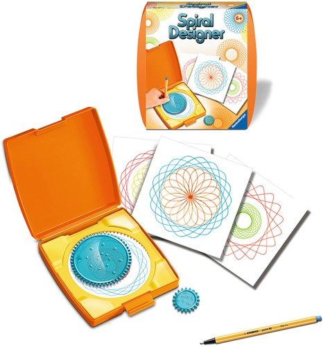 Mini Spiral Designer Oranje-2