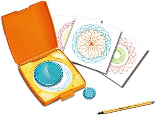 Mini Spiral Designer Oranje-3