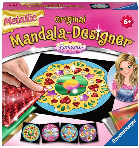 Mandala Designer - Metallic Romantic