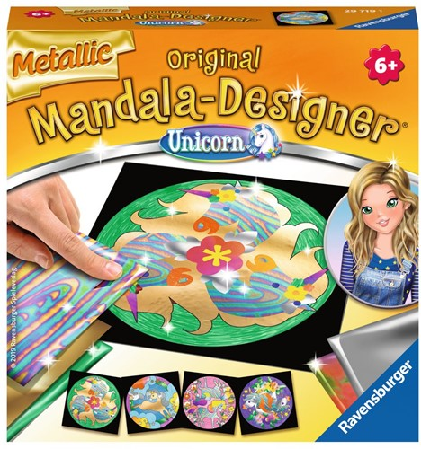 Mandala Designer - Metallic Unicorn