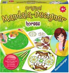 2 in 1 Mandala Designer: Horses