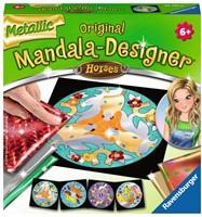 Mandala Designer - Metallic Horses