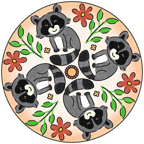 Mini Mandala Designer - Cute Animals-2