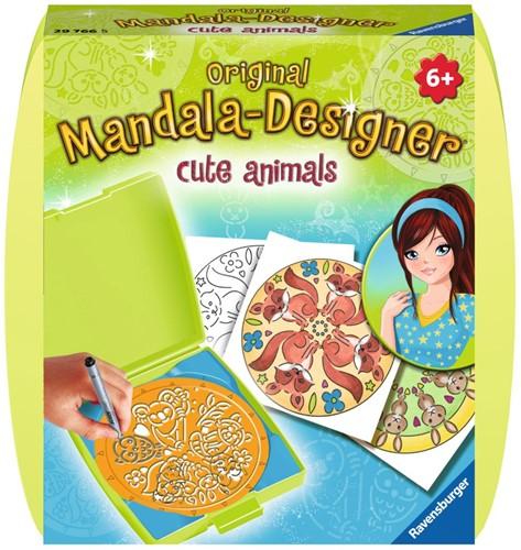 Mini Mandala Designer - Cute Animals