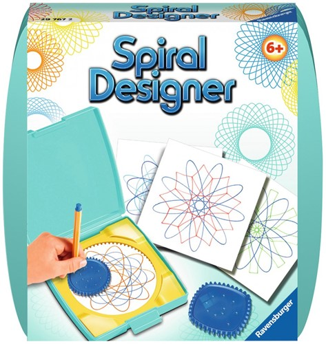 Spiral Designer - Licht Groen