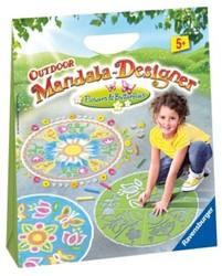 Outdoor Mandala-Designer Flowers & Butterflies