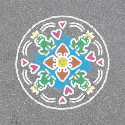 Outdoor Mandala-Designer Romantic Garden-2