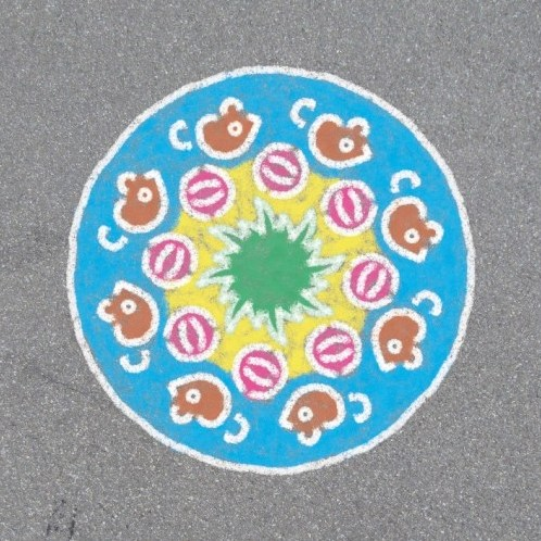 Outdoor Mandala-Designer Animal Fun-2