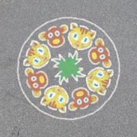 Outdoor Mandala-Designer Animal Fun-3
