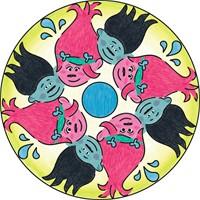 Trolls - Mini Mandala-3