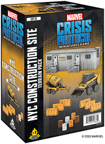 Marvel Crisis Protocol - NYC Construction Site