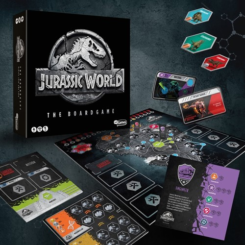 Jurassic World - Bordspel-2