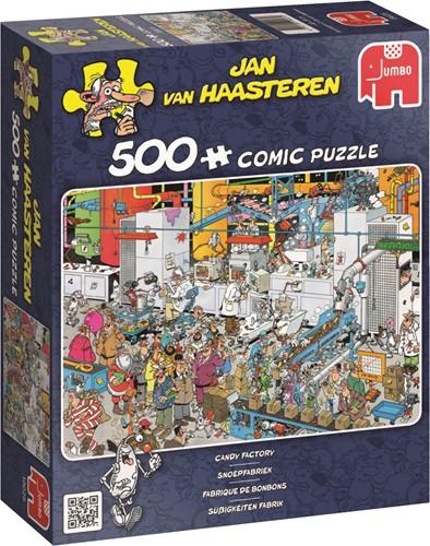 Jan van Haasteren - Snoepfabriek Puzzel (500 stukjes)