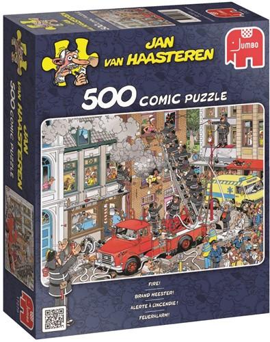 Jan van Haasteren - Brandmeester Puzzel (500 stukjes)