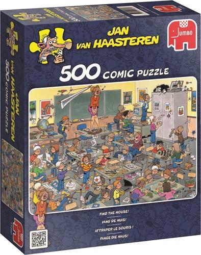 Jan van Haasteren - Vang De Muis Puzzel (500 stukjes)