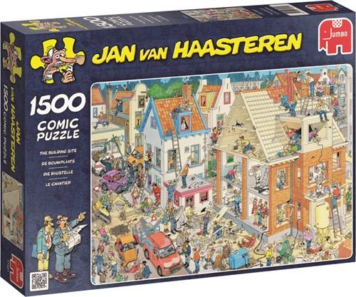 Jan van Haasteren - De Bouwplaats Puzzel (1500 stukjes)
