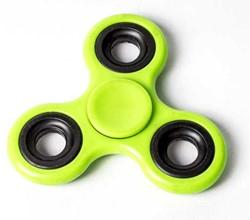Fidget Spinner - Neon Geel