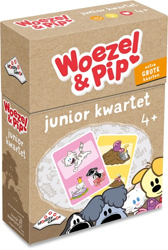 Woezel & Pip - Junior Weetjes Kwartet