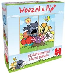 Woezel & Pip - Blokkenpuzzel (4 stukjes)