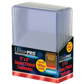 Toploaders Super Thick 120PT (10 stuks)