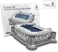Real Madrid Sant Bernabeu 3D Puzzel (83 stukjes)-2