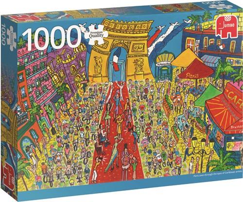 Premium Collection Puzzel - Arc de Triomphe Paris (1000 stukjes)