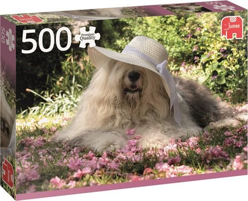 Premium Collection Puzzel - Sophie Bed Of Flowers (500 stukjes)