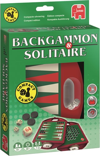 Reis Backgammon & Solitaire Reisspel