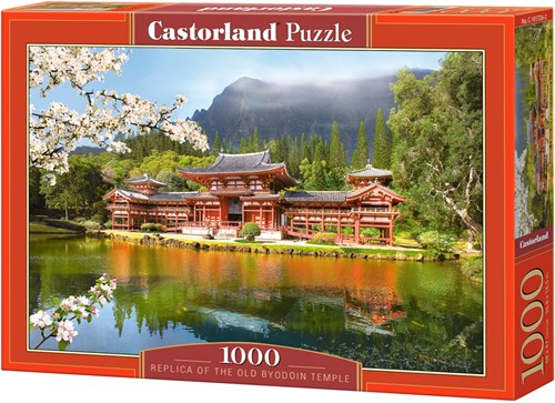 Replica of the Old Byodion Temple Puzzel (1000 stukjes)